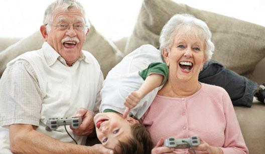 Visita de mãe: Pais educam e avós… educam também!