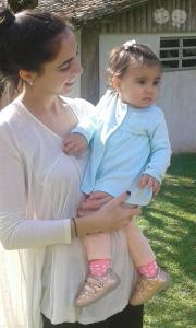 Crédito da foto: Arquivo Pessoal  Mamãe e Princesa <3