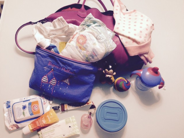 Indispensável na bolsa do bebê!
