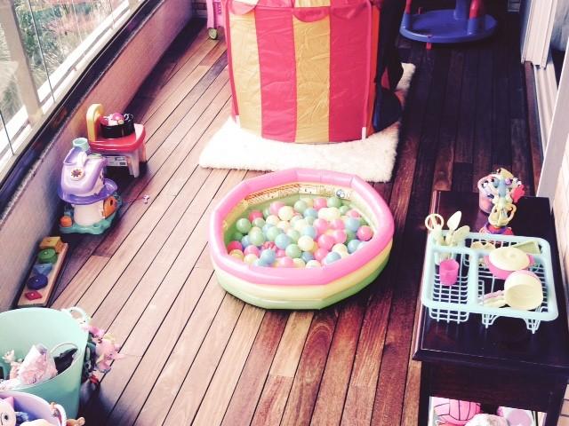 Brinquedoteca em casa