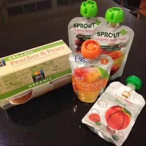 Além de preparar as comidas em casa, comprei umas opções saudáveis para quebrar um galho. | Crédito: Arquivo pessoal