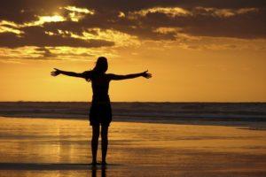 -font-b-Women-b-font-Girl-Sunset-Beach-font-b-Silhouette-b-font-Landscape-Scenery