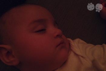 Meu bebê não dorme a noite toda