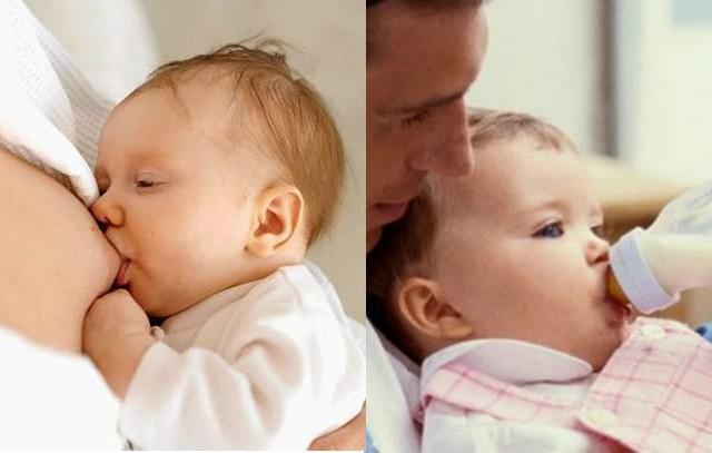Leite Materno x Leite Artificial